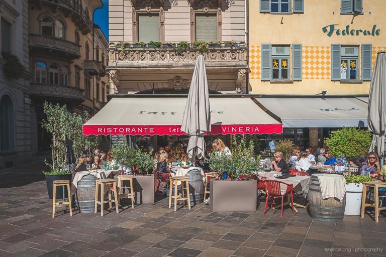 Sass Café Vineria front street view
