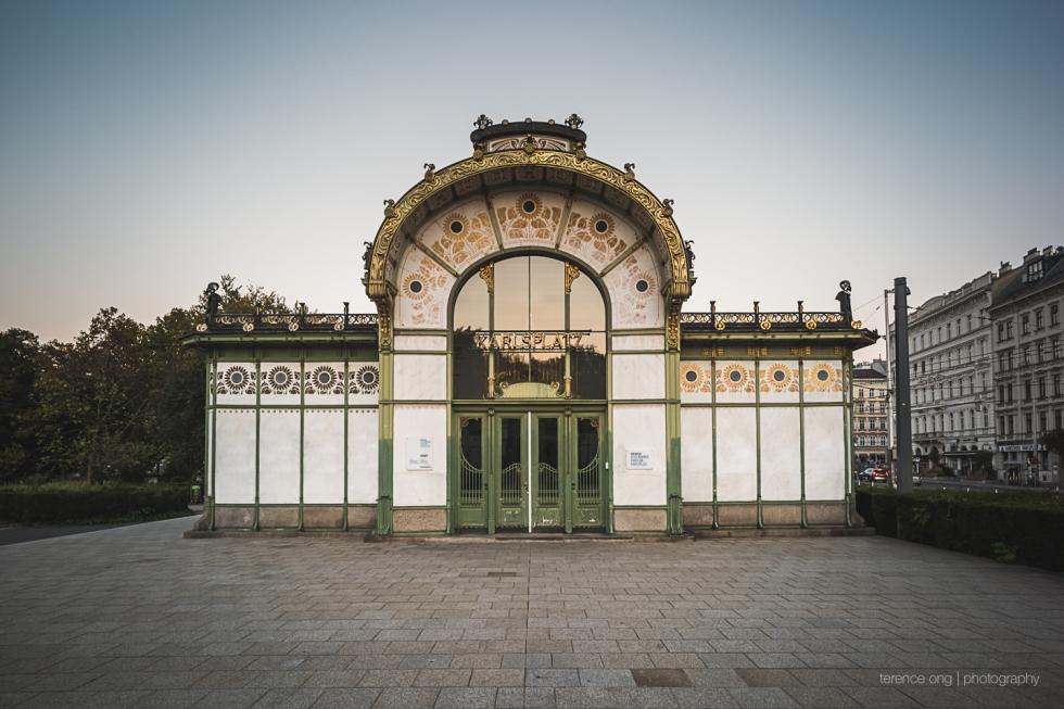 Karlsplatz Vienna Austria