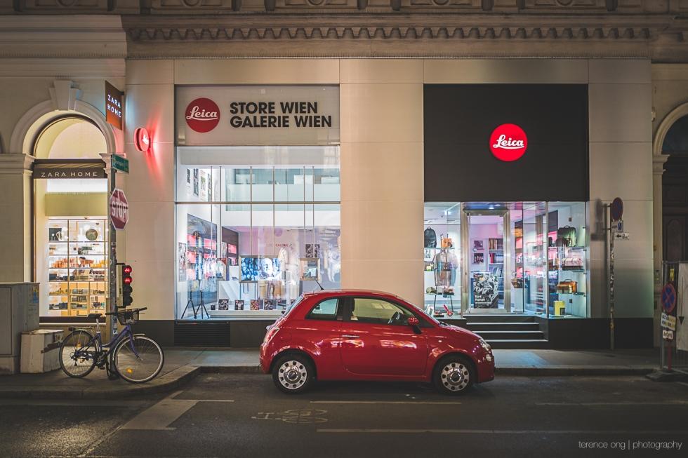 Leica Store Wien, Vienna Austria