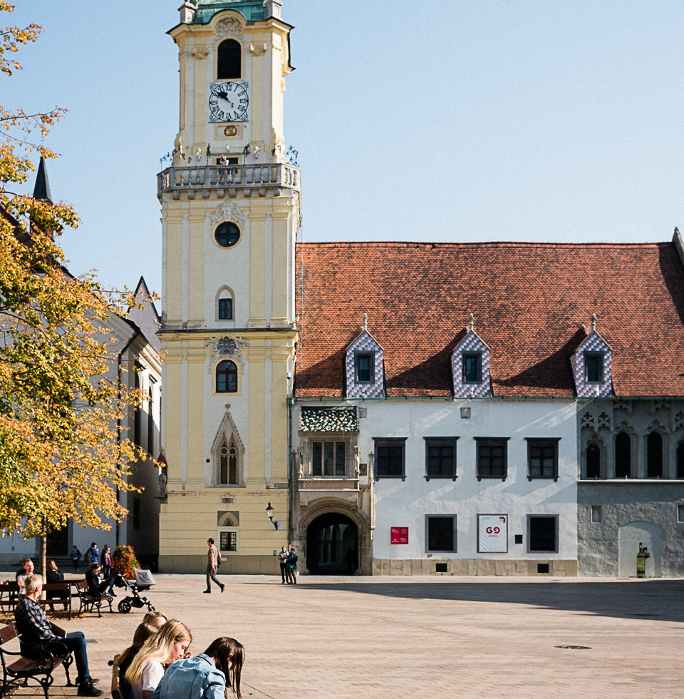 Múzeum mesta Bratislavy located in the main square of Bratislava