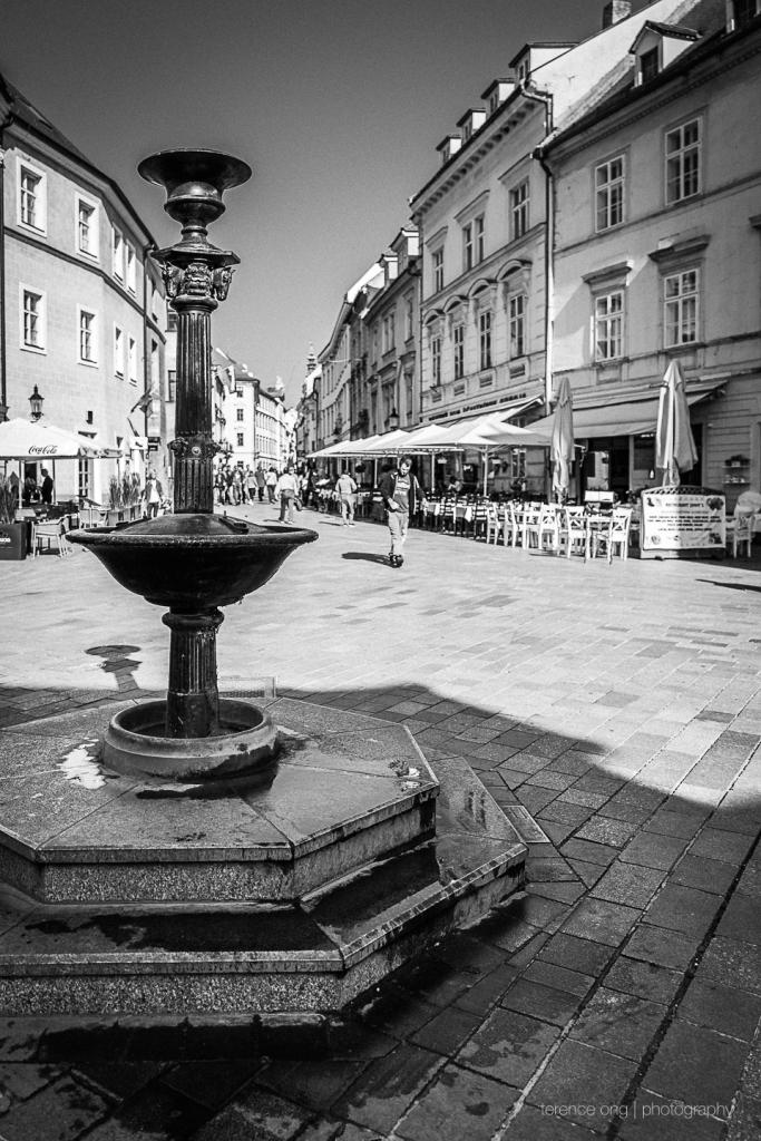 Ventúrska the Main Street in old town Bratislave