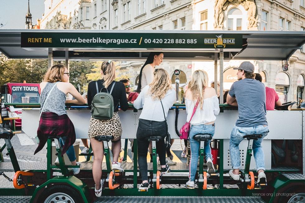 BeerBike Prague, Czech Republic