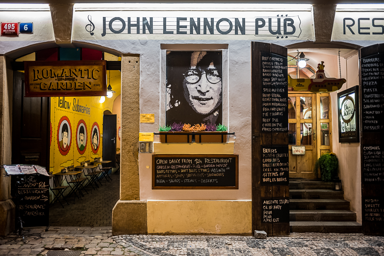 John Lennon Pub in Prague, Czech Republic