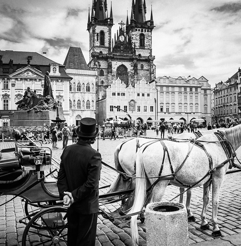 Pražský Kočár the main square in Prague