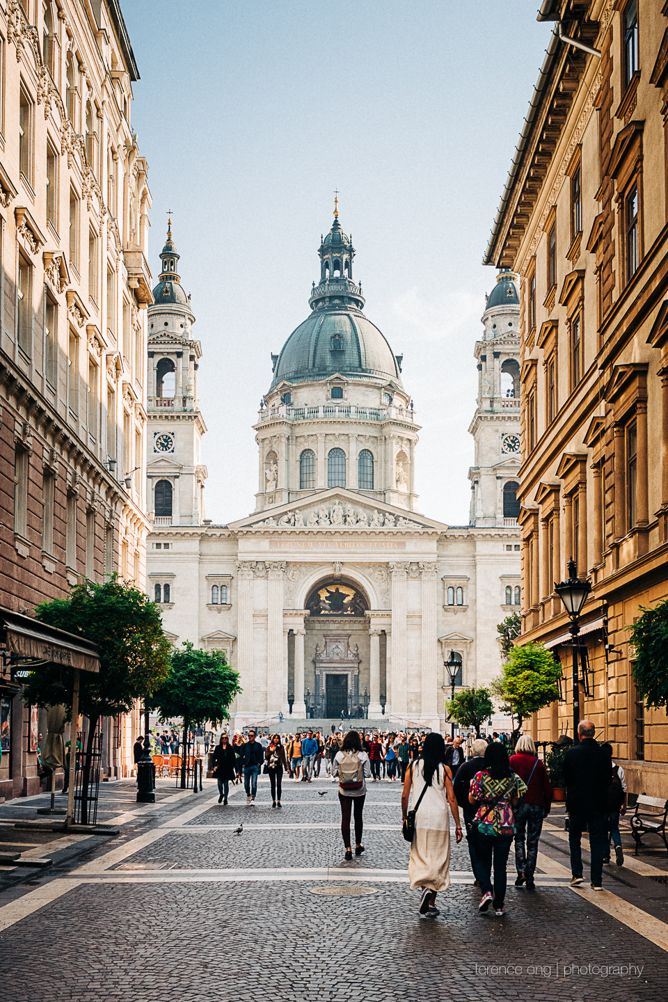 Szent István Bazilika, a beautiful church in the heart of Budapest, Hungary
